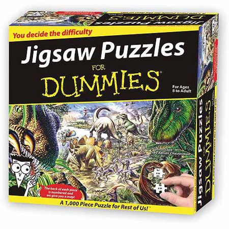 Jurassic World--jigsaw Puzzles For Dummi - Walmart com