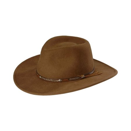 Stetson Men s Mountain Sky Crushable Wool Hat - Swmtsk-8132 Acorn ... 2e97a1fd751