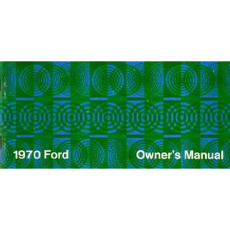 Bishko OEM Maintenance Owner's Manual Bound for Ford Brougham, Galaxie, LTd 1970 ()