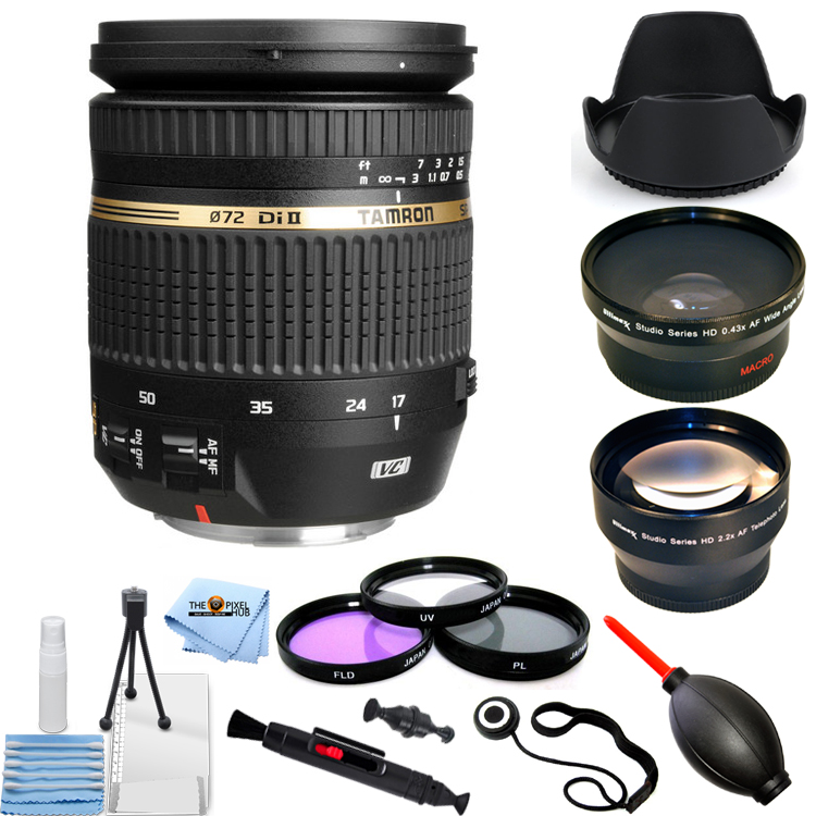 UNASSIGNED Tamron SP AF 17-50mm f/2.8 XR Di-II VC LD Aspherical (IF) Lens Canon EF PRO KIT