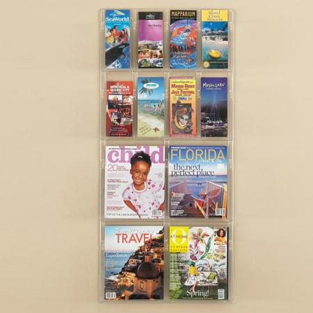 12 Pocket Pamphlet and Magazine Rack