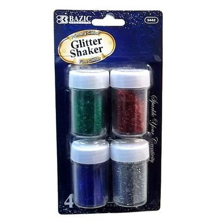 New 800824  Glitter Shakers 4Pk 8G Asst Clrs (24-Pack) Art Brush Supplies Cheap Wholesale Discount Bulk Stationery Art Brush Supplies 6