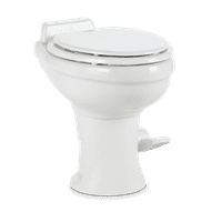 Dometic 302320081 320 Series Standard Height Toilet, White