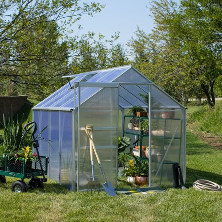 Belham Living Covina 6 x 8 ft. Polycarbonate Greenhouse (Polycarbonate Greenhouse)
