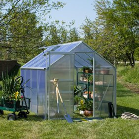Greenhouse Film-20' x 15'-4 Year UV Resistance-Clear-6 mil thickness