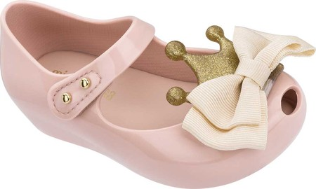 Little Me Kids Pink Mary Jane Glitter Baby Girl Shoes