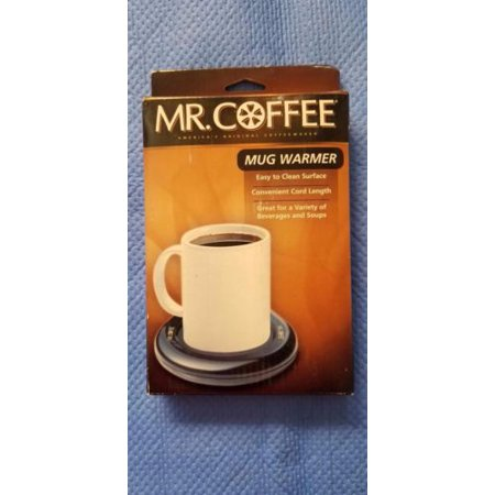 Electric Mr. Coffee Mug Warmer Keep Hot Cocoa Tea Water ...