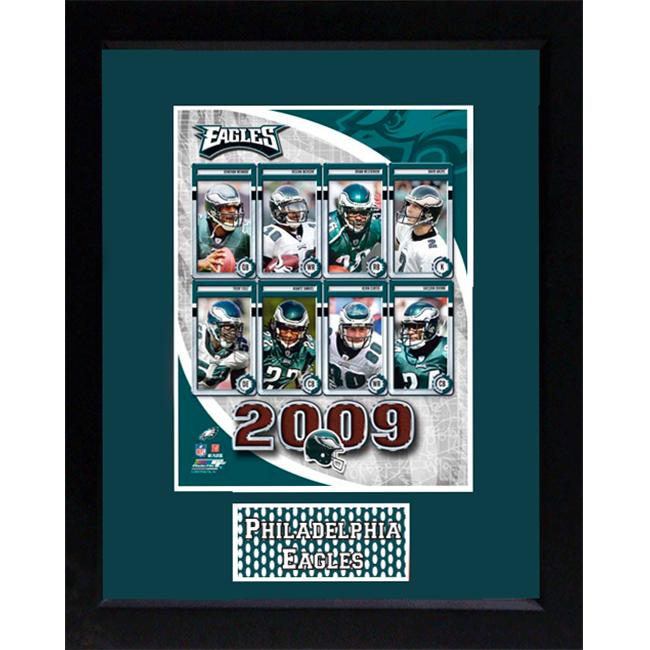Encore Select 140-FBPHI2009 2009 Philadelphia Eagles 11x14 Deluxe Frame