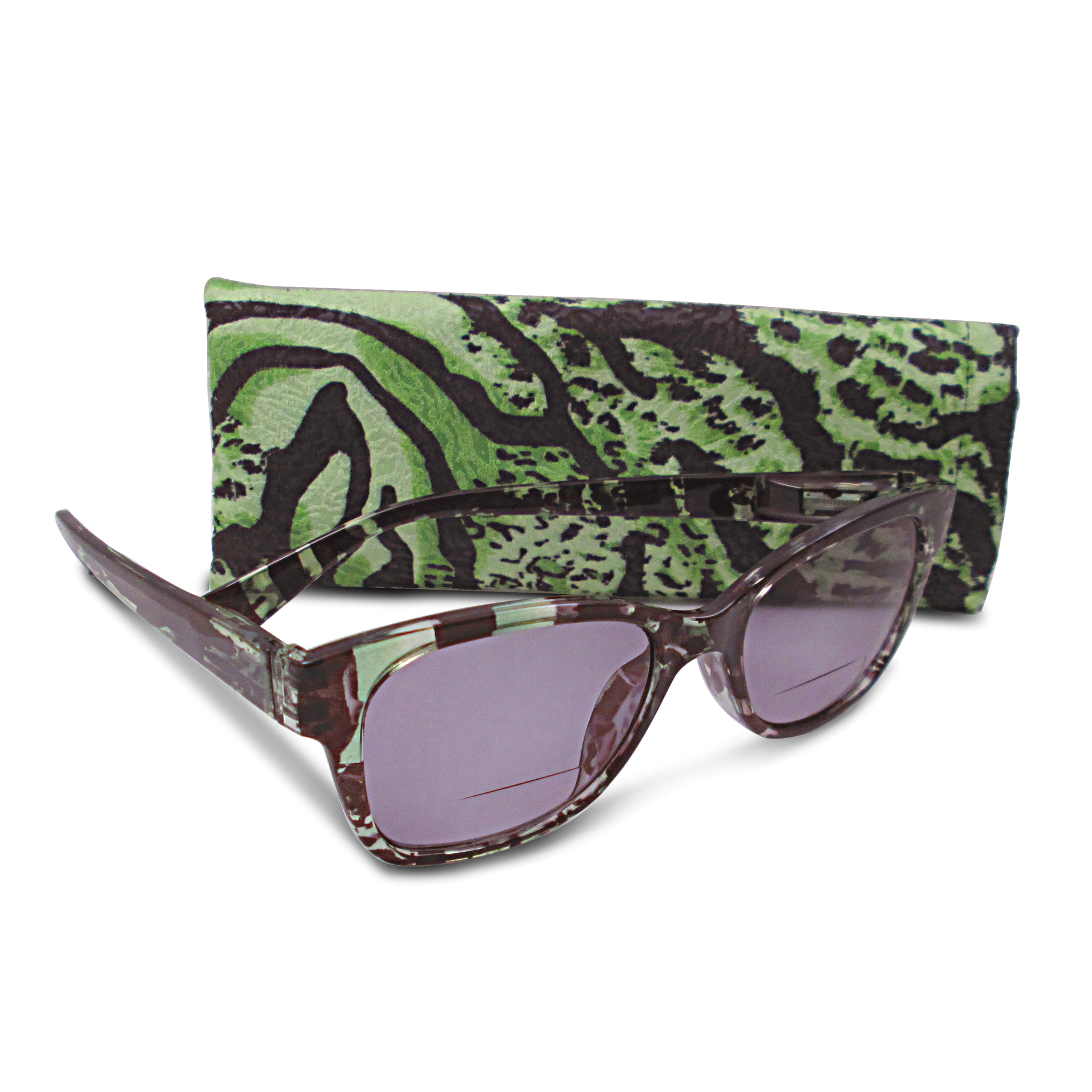 Green 1.25 Magnification Sun Reading Glasses