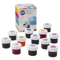 Wilton Icing Colors, 12-Count, Food Coloring