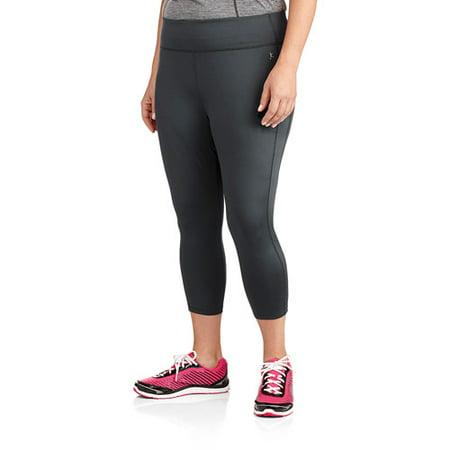 0739ae2151b2b Danskin Now - Women's Plus-Size Performance Capri Legging - Walmart.com