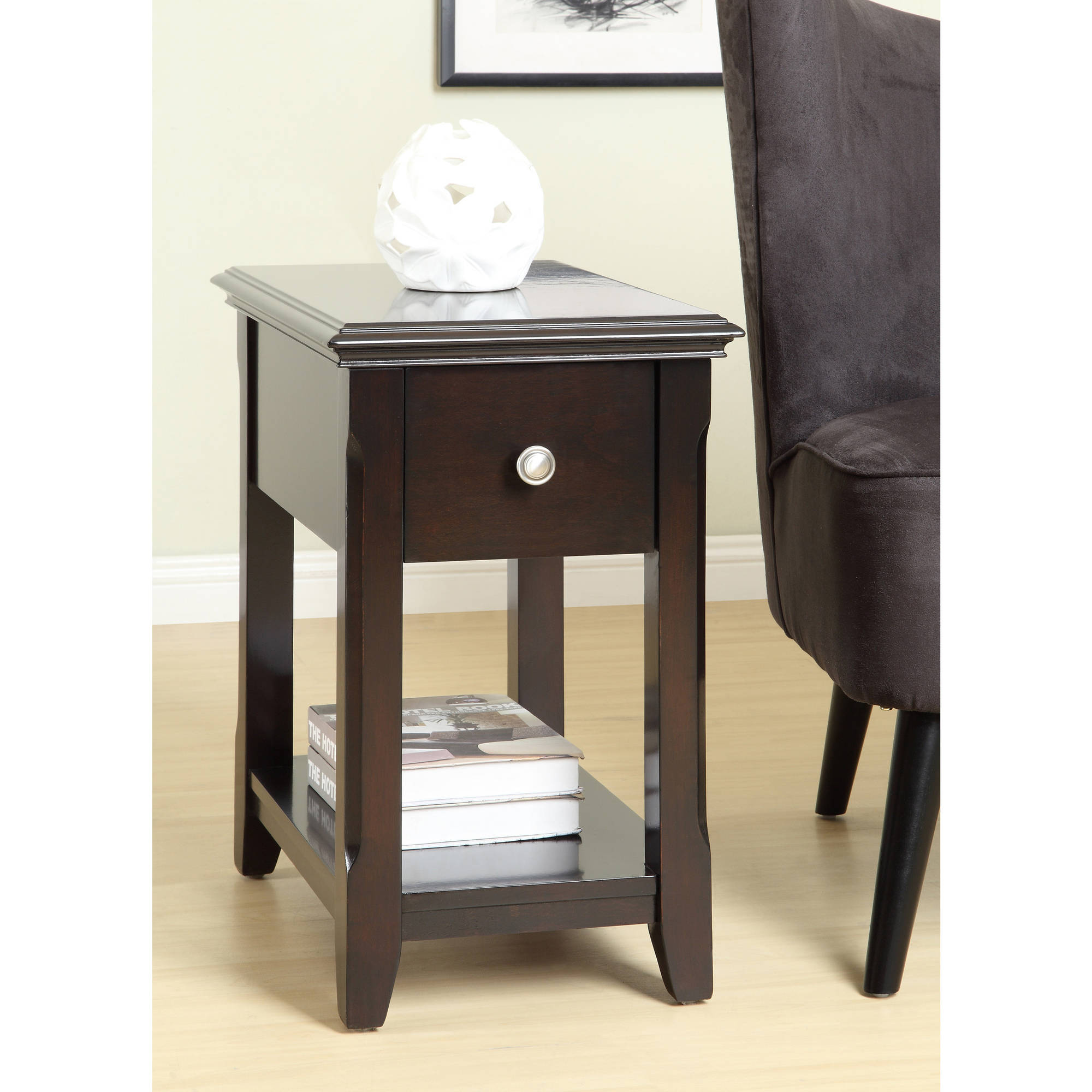 Charlton Side Table, Dark Espresso