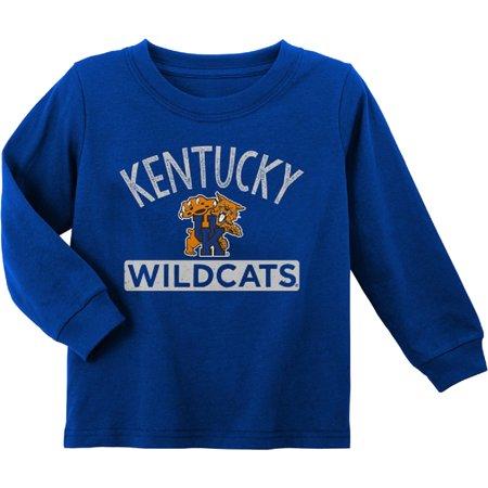 Kentucky Wildcats Toddler Team Color Long Sleeve T-Shirt - Royal