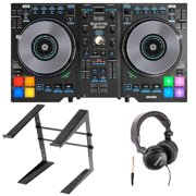 Hercules DJControl Jogvision with Tascam Headphones and Stand