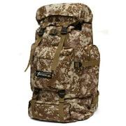 90L Fashion Waterproof Nylon Outdoor Hiking Camping Backpack Bag