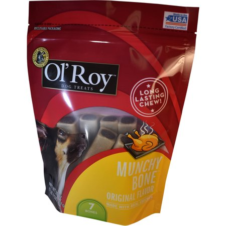 Ol Roy Original Munchy Bone  20 0 Oz