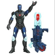 "Marvel Avengers Earth Mightiest 4"" Figure Reactron Armor Iron Man"