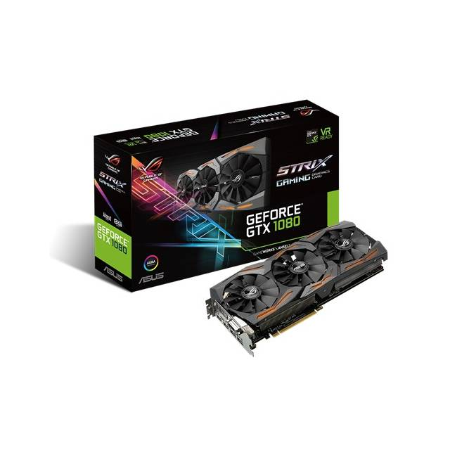 Asus NVIDIA ROG Strix GeForce GTX 1080 8GB GDDR5X DVI/2HD...
