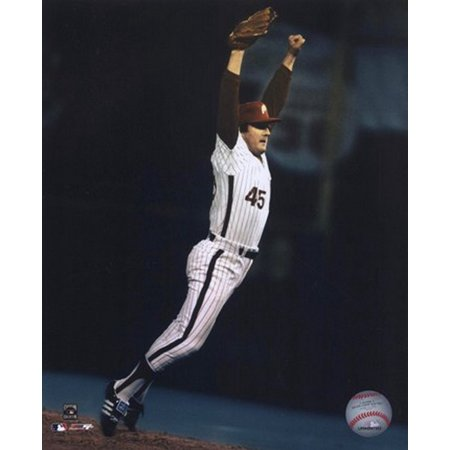 Tug McGraw - World Series last out celebration Sports Photo