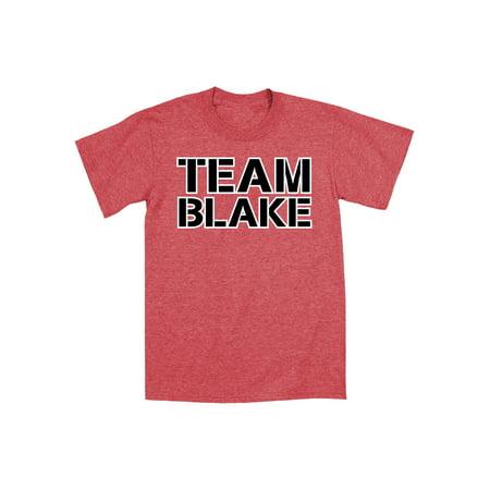 Team Blake Varsity Collegiate Funny Country Music Nashville Novelty Mens T-Shirt for $<!---->