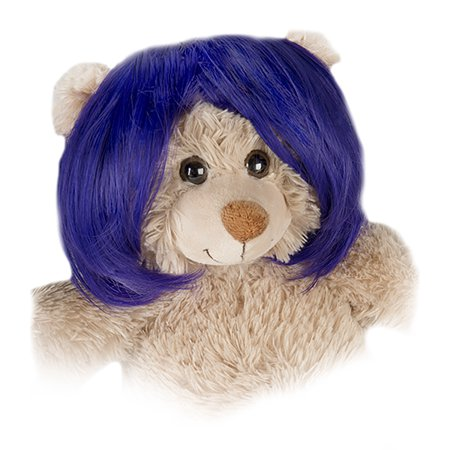 Short Bob Purple Wig Fits Most 14