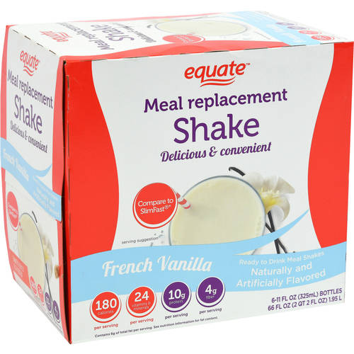 Equate Weight Loss Shake, 6-Pack
