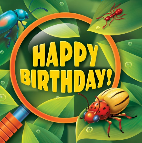Bug-Eyed Party Happy Birthday Lunch Napkins (16 ct)