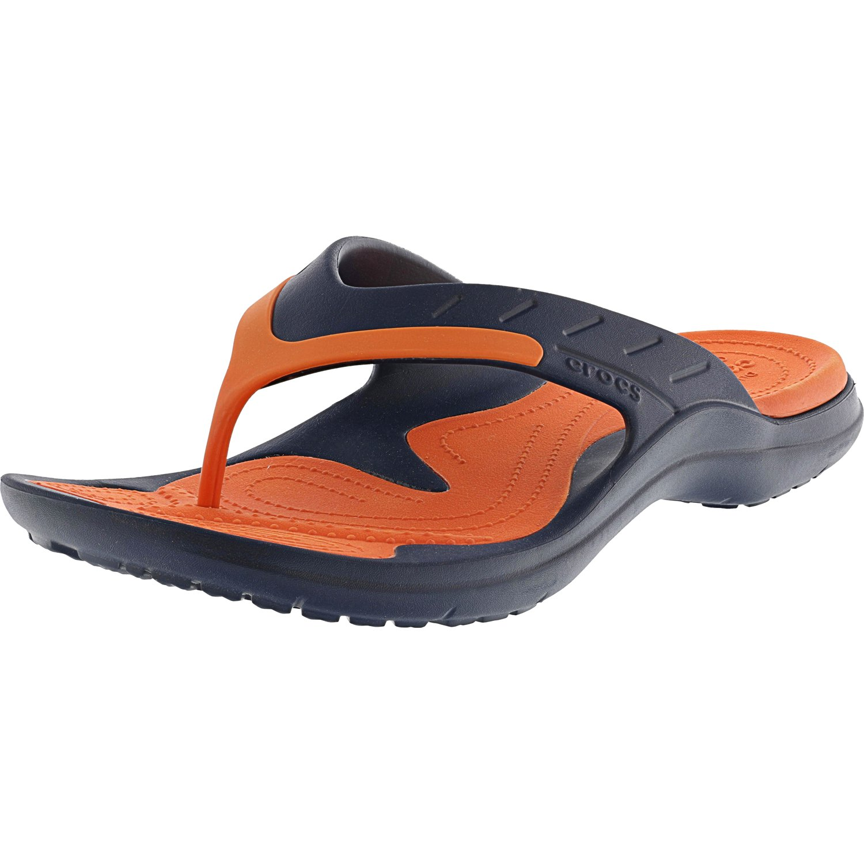 bbec4cf8564847 Crocs Modi Sport Flip Pepper   Pearl White Rubber Sandal - 13M 11M
