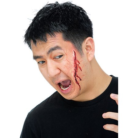Gash Prosthetic Adult Halloween Accessory