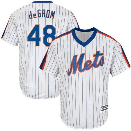 finest selection f34ff 87774 Jacob deGrom New York Mets Majestic Official Cool Base Player Jersey - White