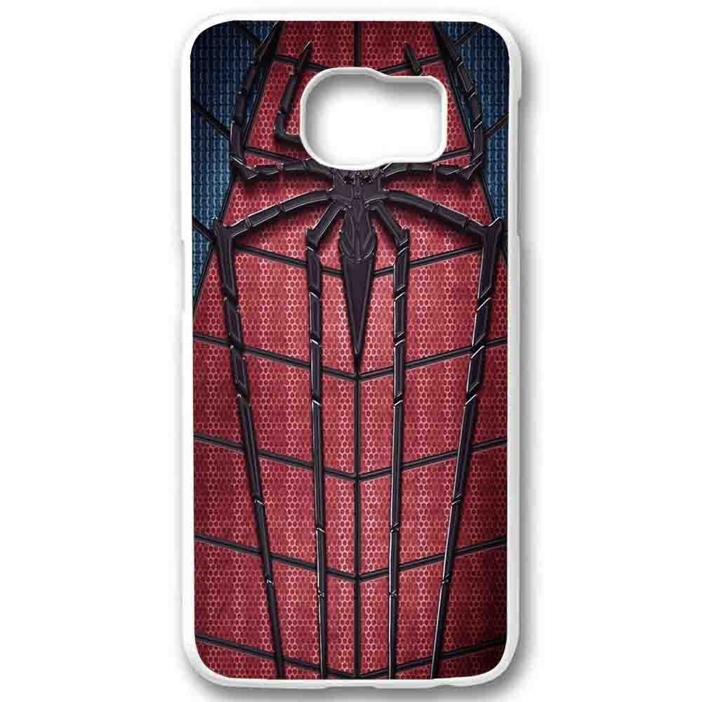 Ganma Amazing Spiderman Logo Custom Case For Samsung Galaxy Case (Case For Samsung Galaxy S6 Edge White)