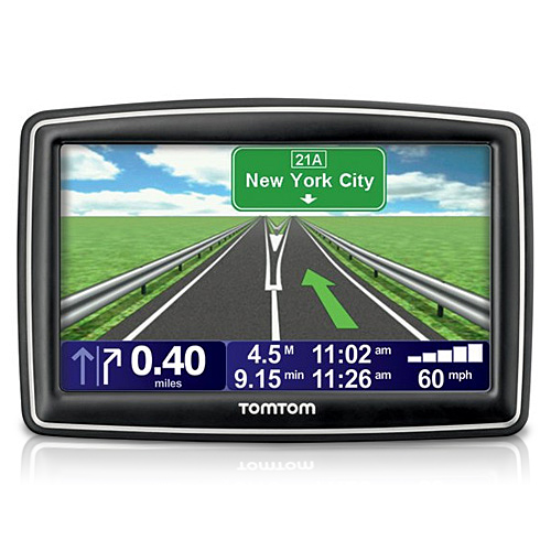 TomTom XXL 540S WTE GPS Replace by VIA 1505M WTE 5-inch Automotive GPS w  Lifetime Map Updates by TomTom