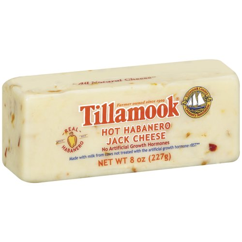 Tillamook Deli Cut Hot Habanero Jack Cheese, 8 oz