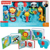 Fisher-Price Rainforest Friends Activity Books and Playful Pals Gift Set