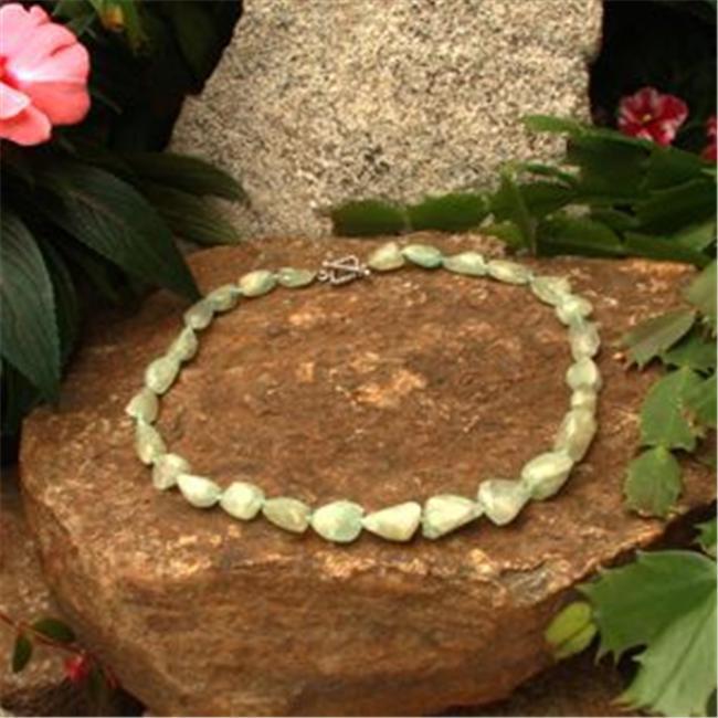 Betty Rocks BNKAQU213271418T3 18 inch 27 x 14mm Aquamarine Necklace by Betty Rocks