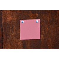 LAMINATED POSTER Note Notepad Stickies Paper Nails Wood List Poster Print 24 x 36
