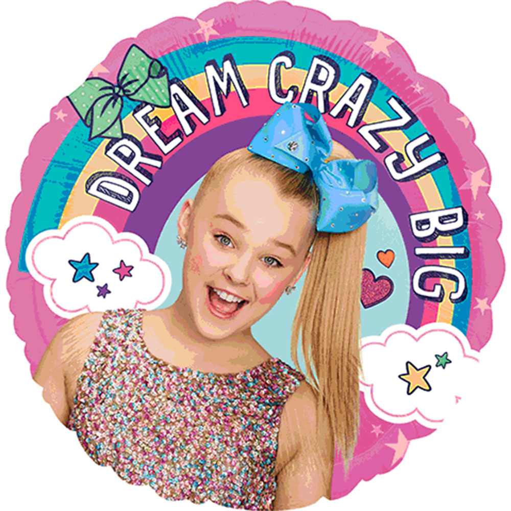 "Jojo Siwa Foil Balloon 18"" ( Each )"