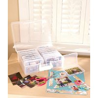Scrapbooking 1,600 Photo Organizer Case - 16 Inner Cases - Snap Closures, Standard Shipping Only