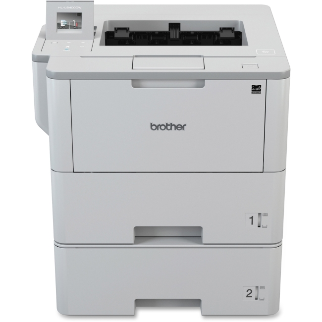 Brother HL-L6400DWT Laser Printer Monochrome 1200 x 1200 dpi Print Plain Paper Print Desktop 52 ppm Mono Print by Brother