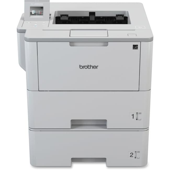 Brother HL-L6400DWT Laser Printer - Monochrome - 1200 x 1200 dpi Print - Plain Paper Print - Desktop - 52 ppm Mono Print