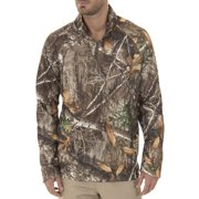 5d5df76db399e Realtree & Mossy Oak Men's Fleece Performance Camo 1/4 Zip Jacket Image ...