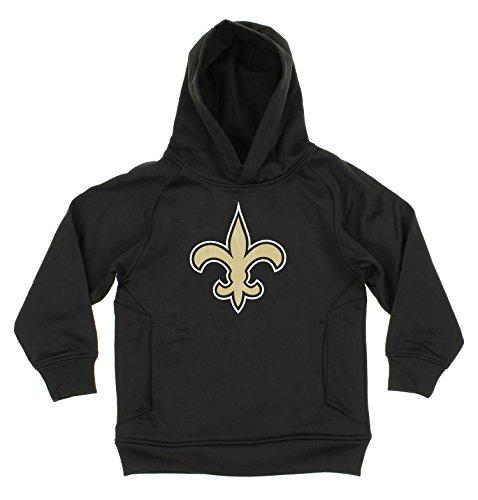 OuterStuff NFL Youth Boys New Orleans Saints Logo Pullover Sweatshirt Hoodie