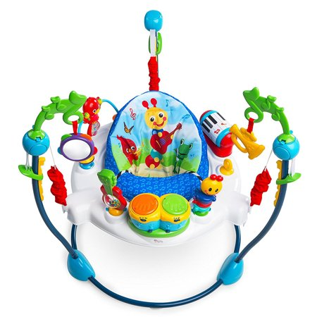 Baby Jumper Toy Station in Neighborhood Symphony Activity Jumper - Kiss Panda Jumper