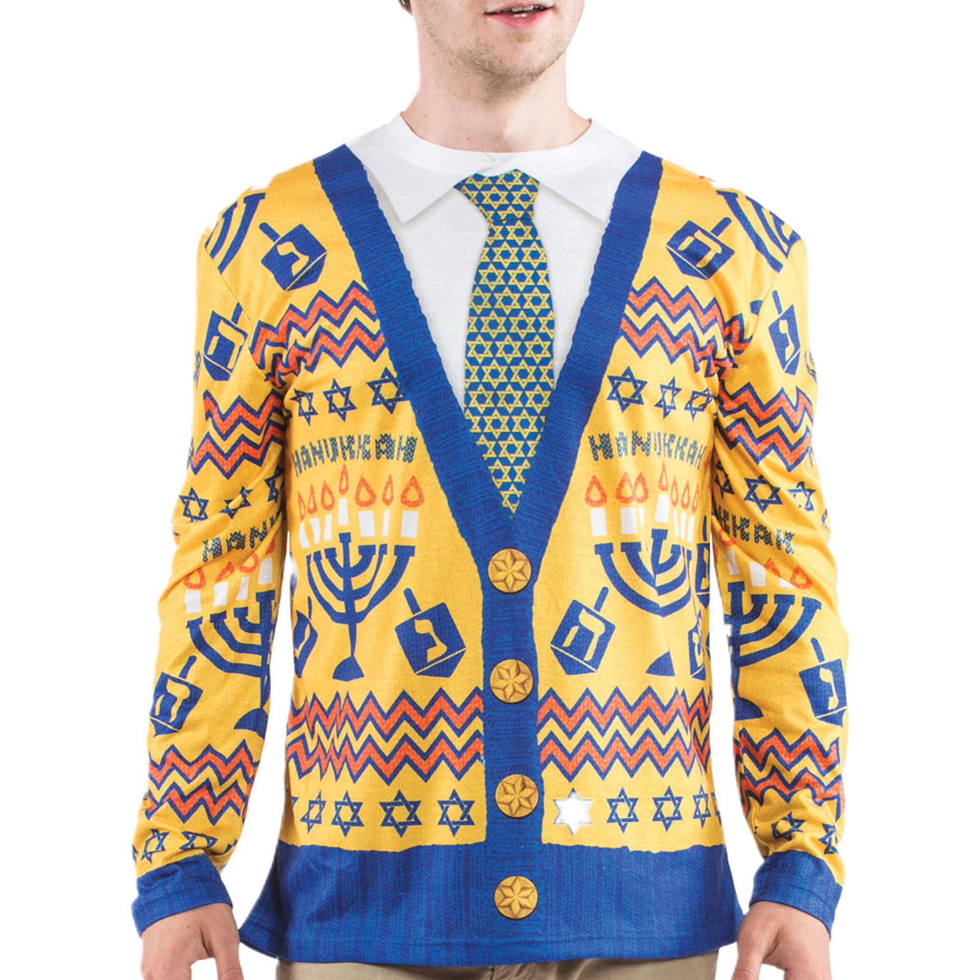 Ugly Hanukkah Sweater Men