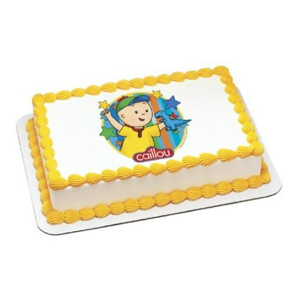 Caillou Edible Cake Topper Decoration
