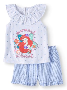 4a5b762bb Product Image Baby Girl Ariel Tee and Short, 2-Piece set (Baby Girl)
