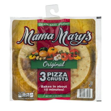 Mama Mary's Original Pizza Crusts - 3 CT