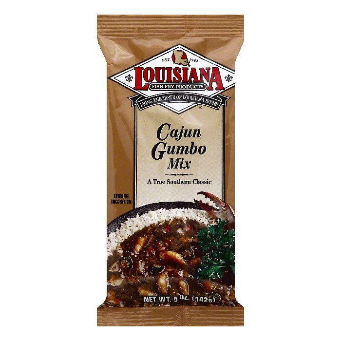 Louisiana Cajun Gumbo Mix, 5 OZ (Pack of 24) by