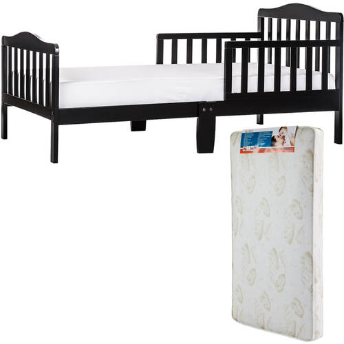 Dream On Me Classic Design Toddler Bed with Mattress