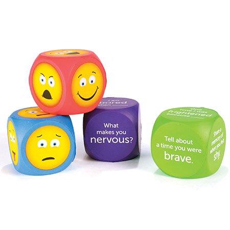 Learning Resources Soft Foam Emoji Cubes